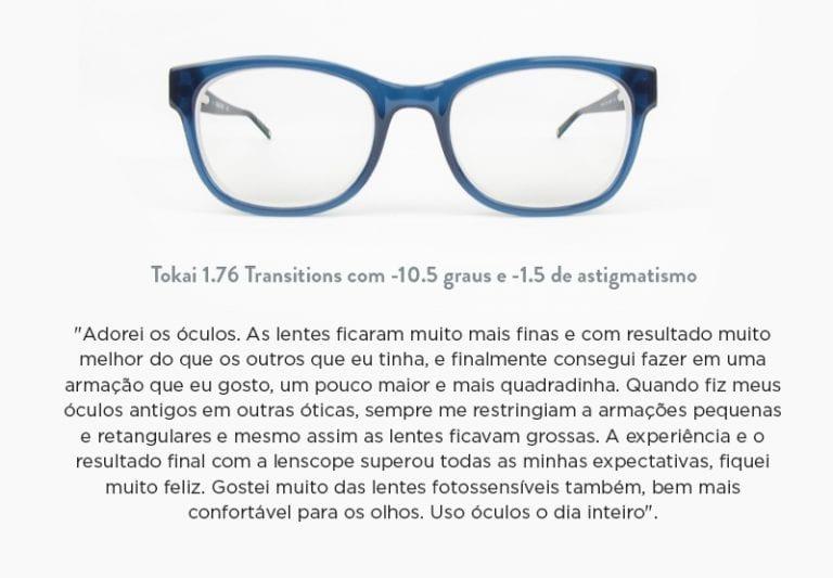 Lentes Transitions ou Fotossensíveis