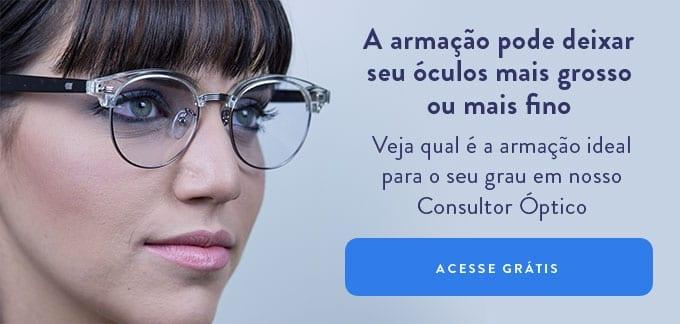 óculos que não deixa os olhos pequenos