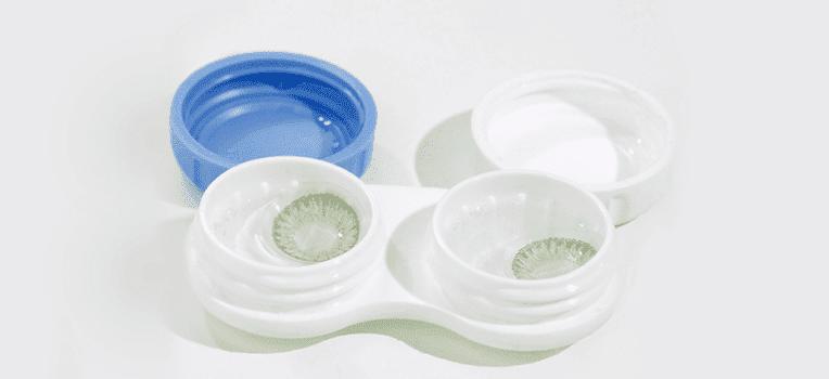 receita de lente de contato