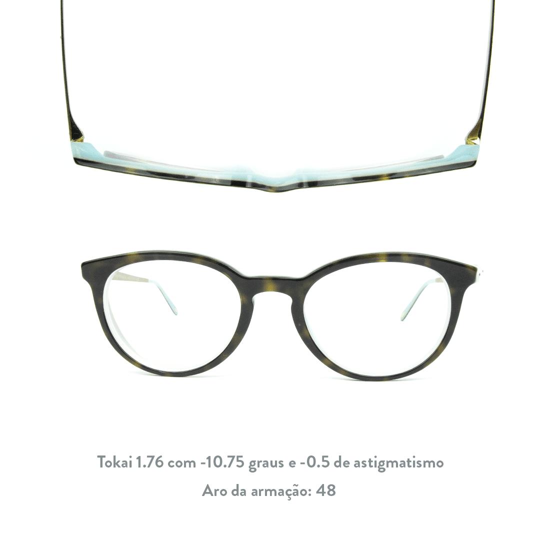 -10.75 de miopia e -0.5 de astigmatismo