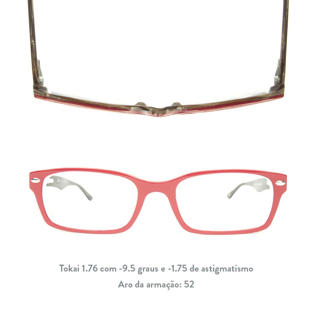 -9.5 de miopia e -1.75 de astigmatismo