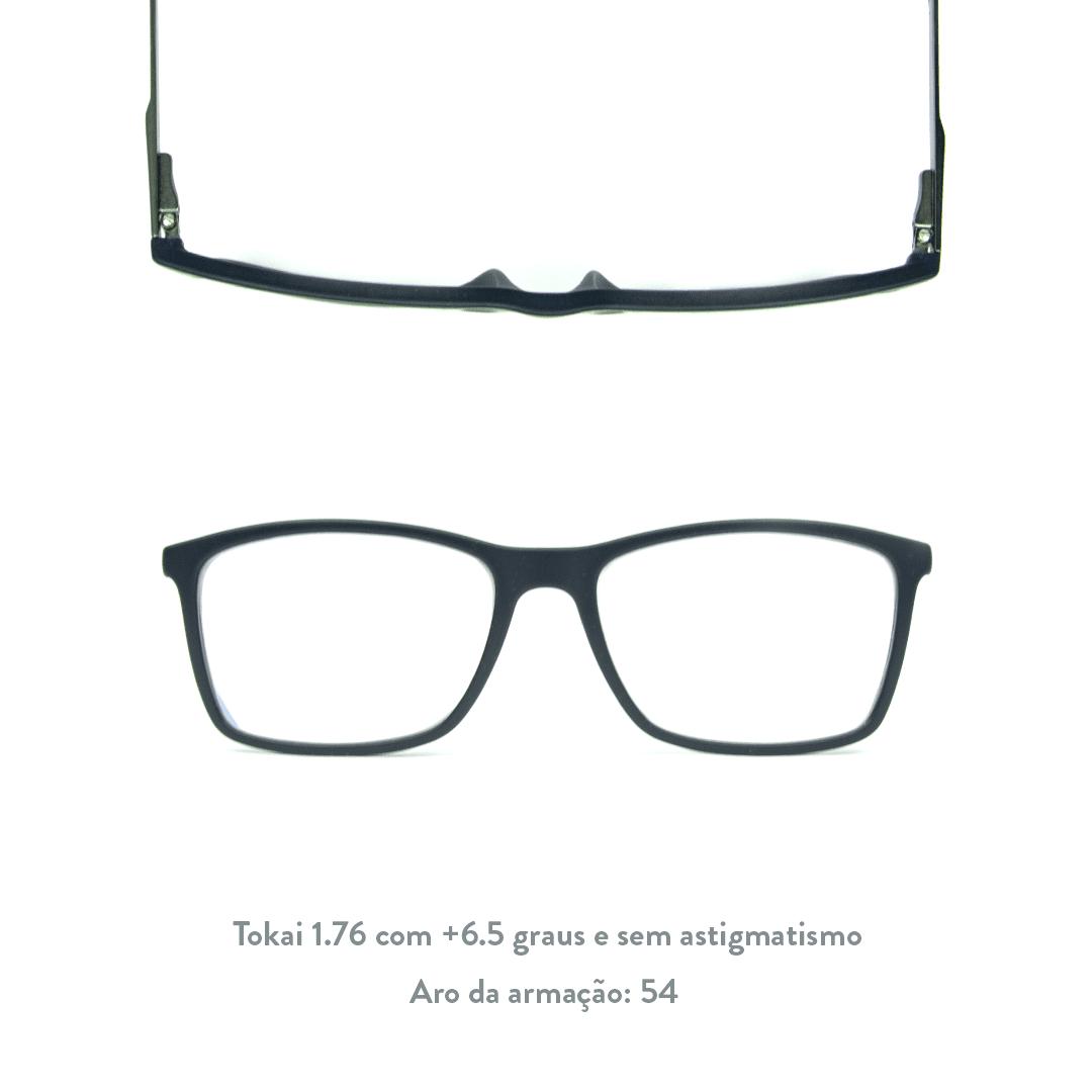 +6.5 de hipermetropia e sem astigmatismo