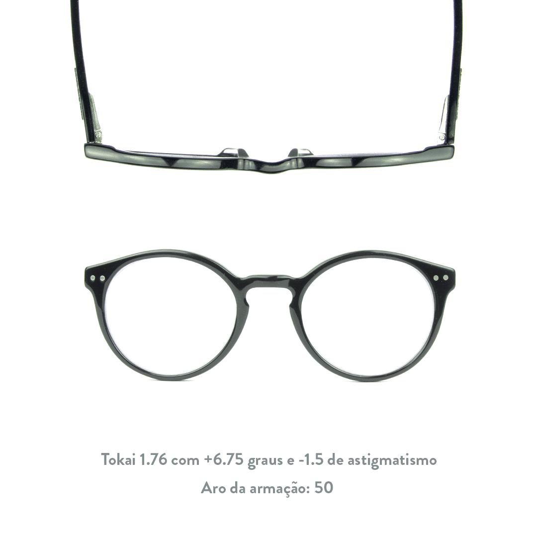 +6.75 de hipermetropia e -1.5 de astigmatismo