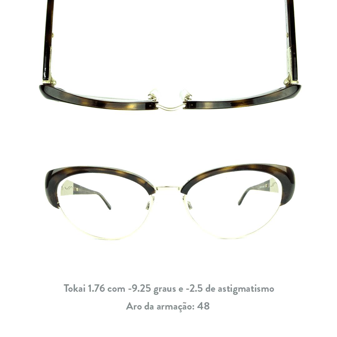 -9.25 de miopia e -2.5 de astigmatismo