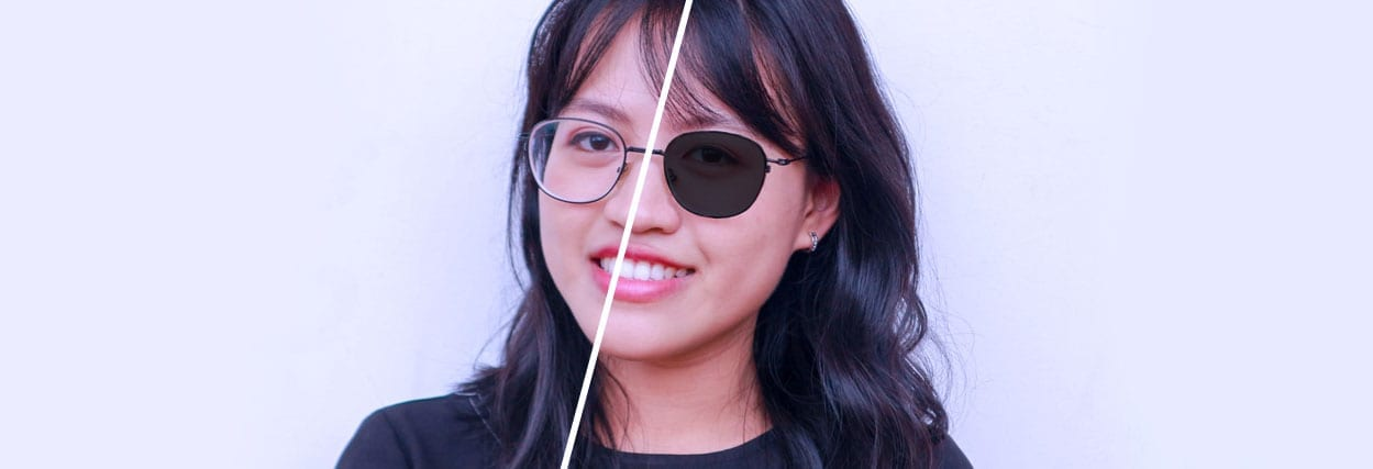 65fb843e8 Lentes Transitions: lentes fotossensíveis que escurecem, clareiam e  proporcionam conforto à visão | Lenscope