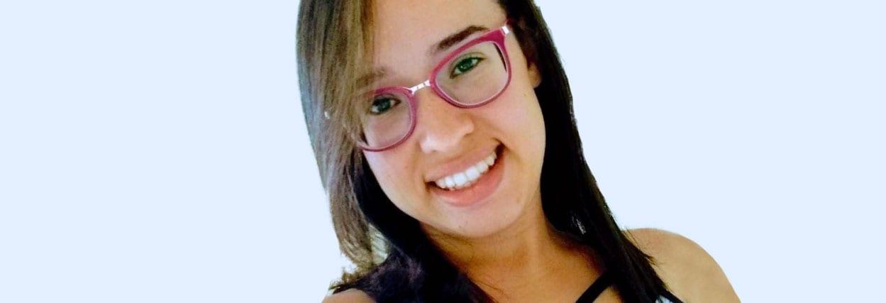 44d3aba4bc5b3 Como fica o óculos com miopia e astigmatismo  - Resultado Ivanice ...