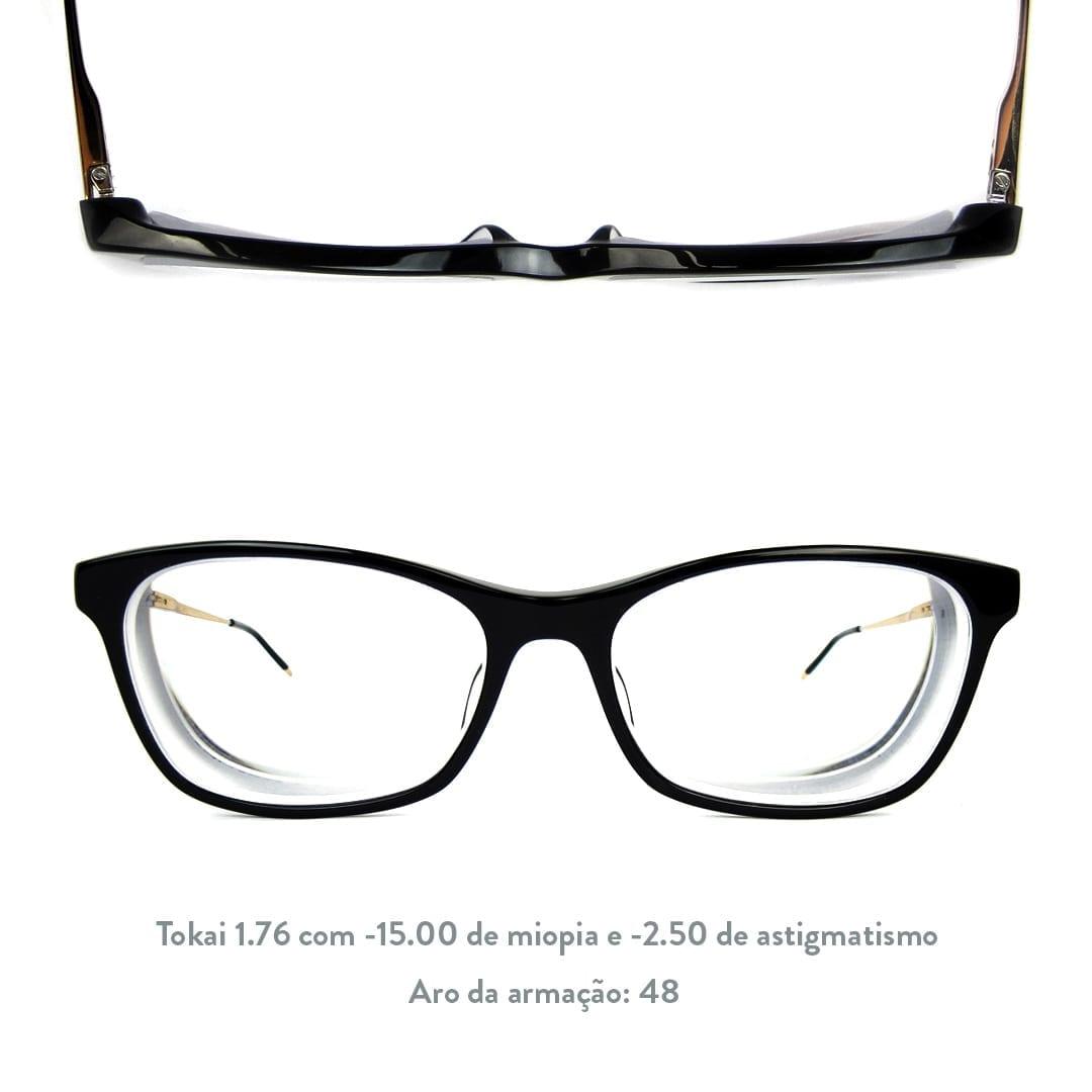 lentes mais finas para miopia
