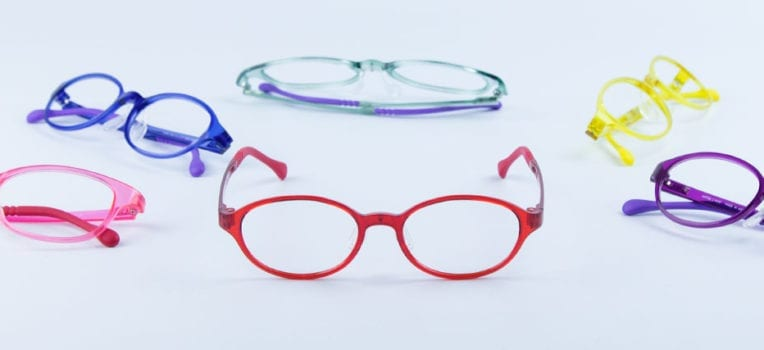 lentes de óculos para criança