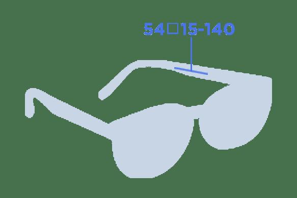 armação para 6 graus de miopia