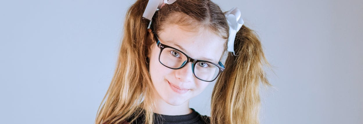Como escolher armação de óculos infantil?