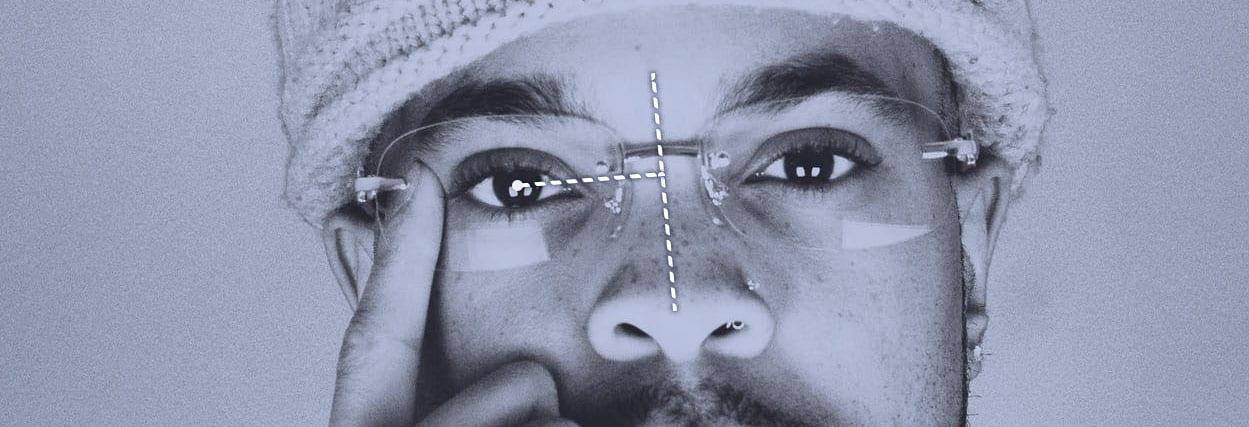 Como a medida DNP influencia na espessura do óculos