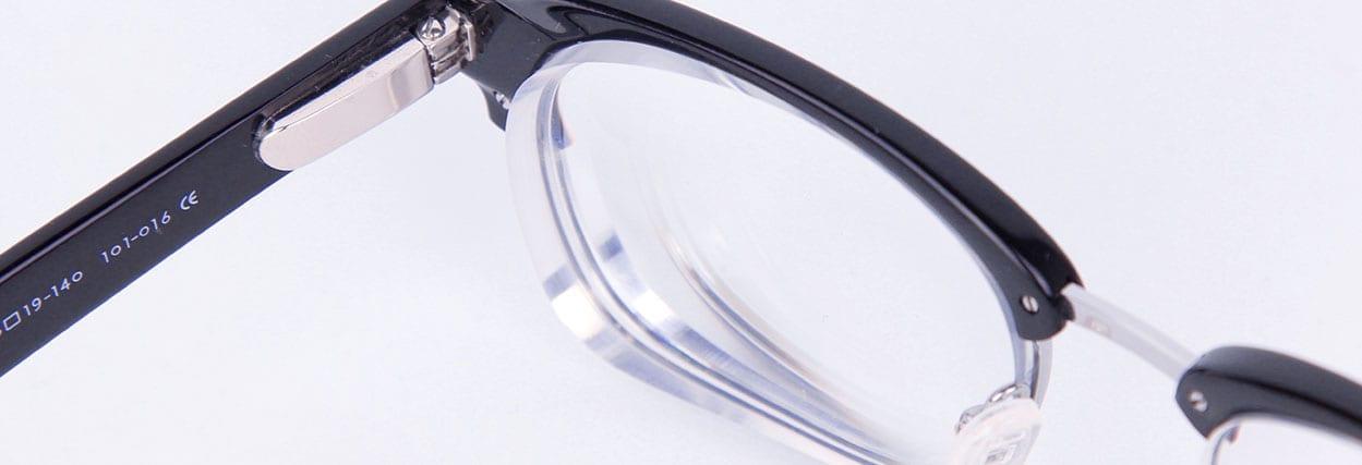 Materiais de lentes de óculos: acrílico, policarbonato, resina e vidro (cristal)