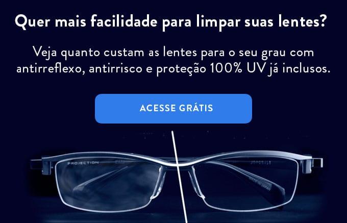 como limpar óculos
