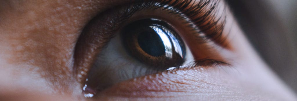 parasita no olho