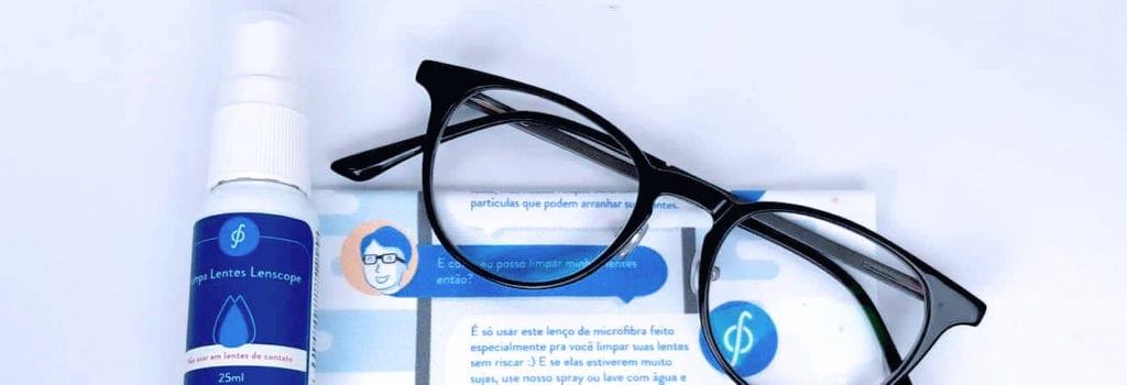Como limpar lentes de óculos de grau