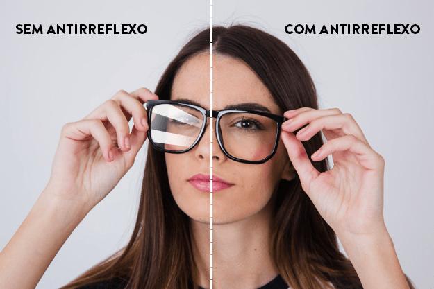 como deixar a lente do óculos limpa