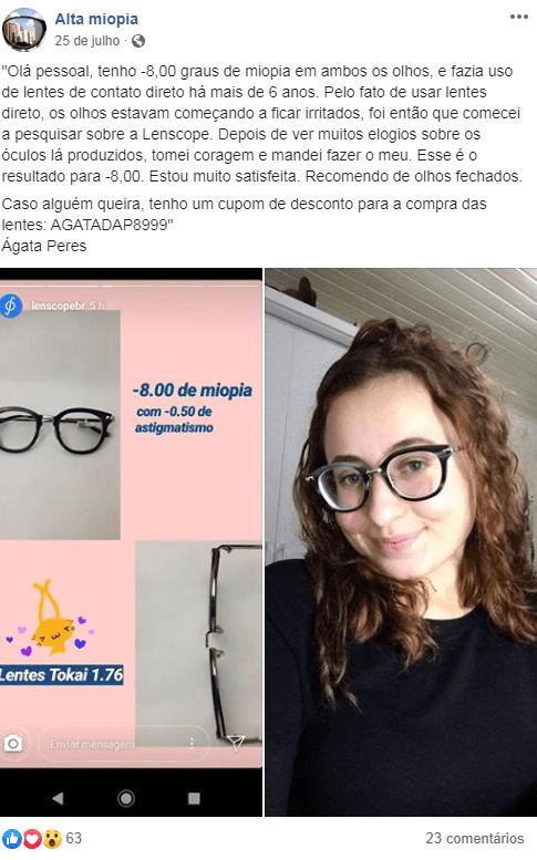 lentes ótimas para grau alto de miopia