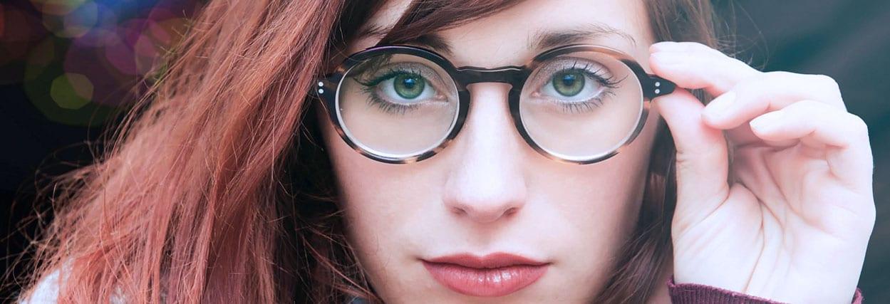 Armação de óculos para alta miopia