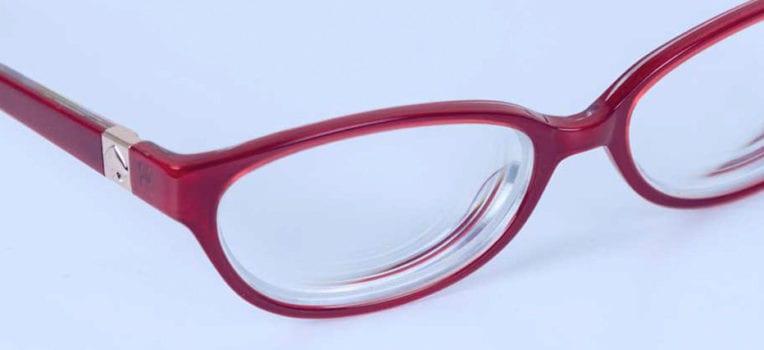 camadas na lente