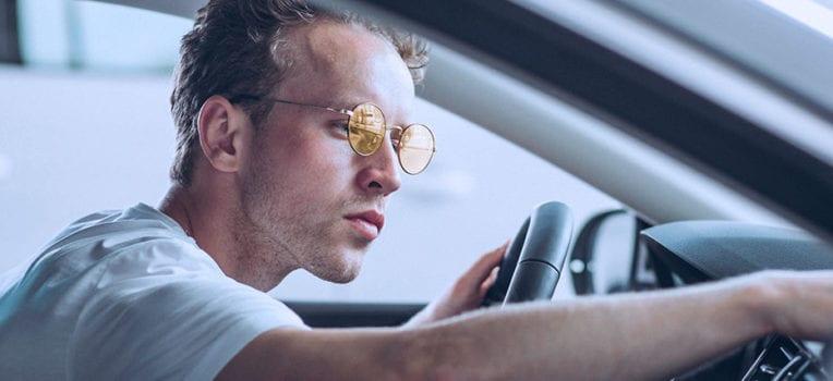 óculos para dirigir a noite