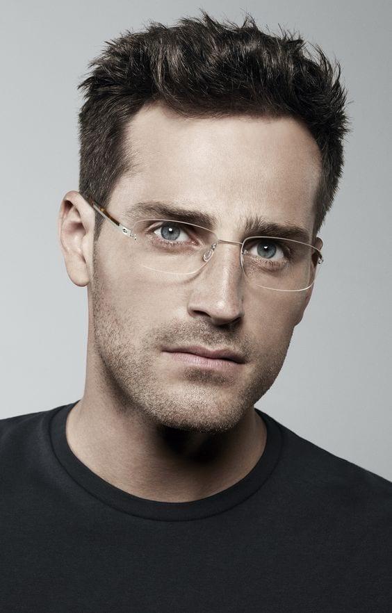 óculos sem aro