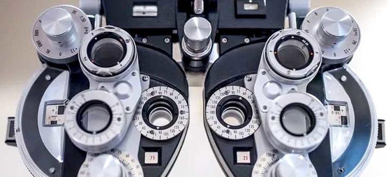 Teste de miopia