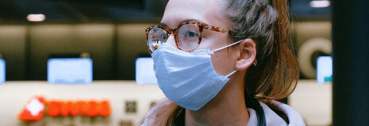Como usar máscara sem embaçar o óculos de grau