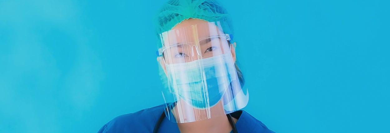 Face shield: a máscara facial contra o coronavírus