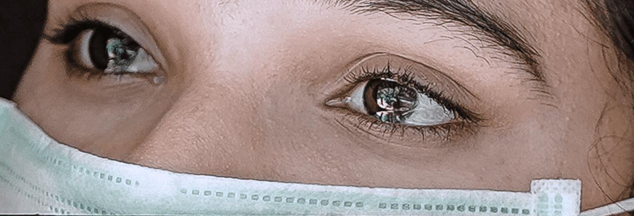 Lesão na retina pode estar ligado ao coronavírus