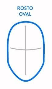 Formato de rosto oval