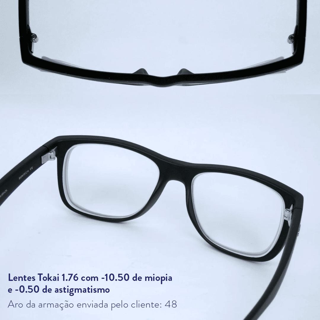 -10.50 de miopia e -0.50 de astigmatismo