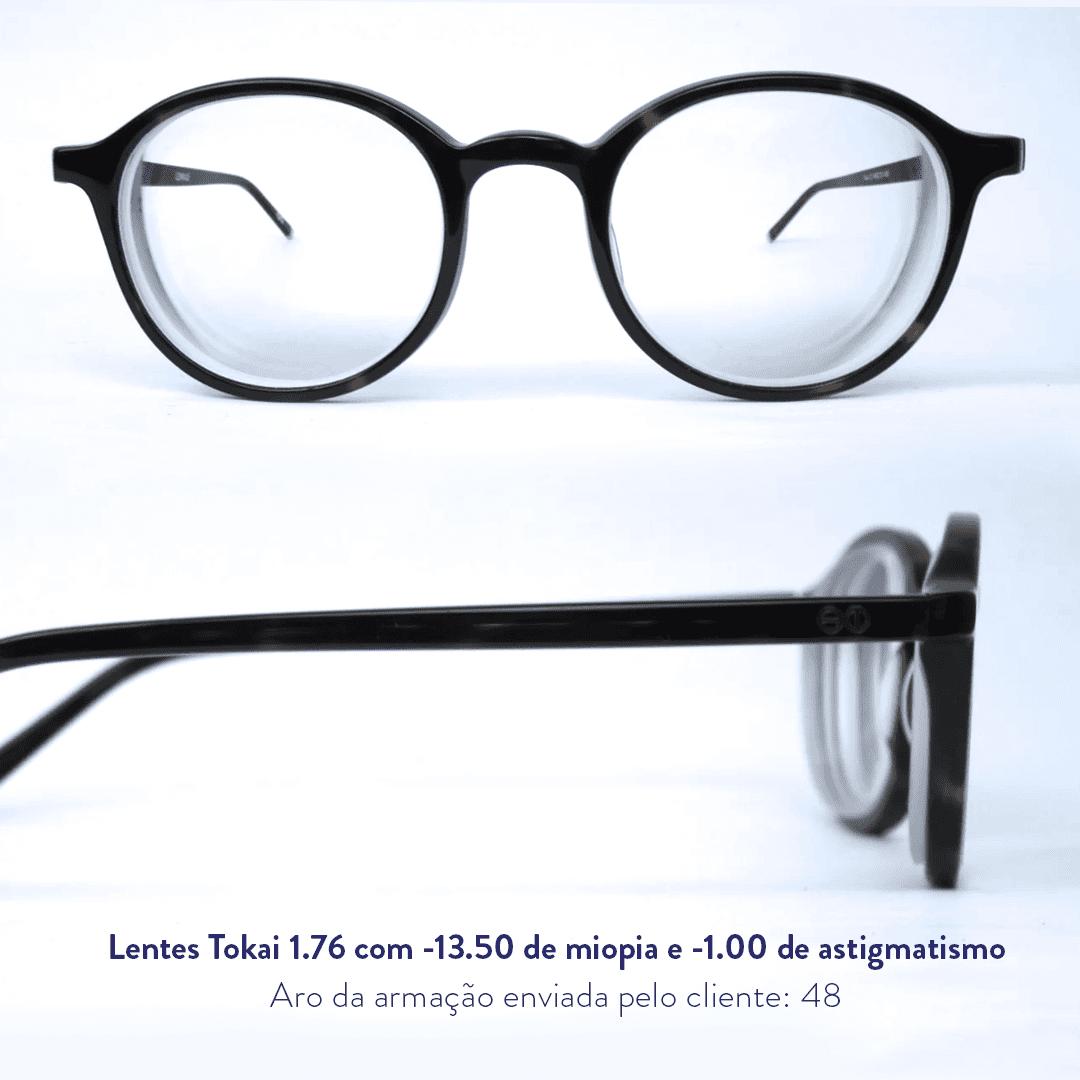 -13.50 de miopia e -1.00 de astigmatismo