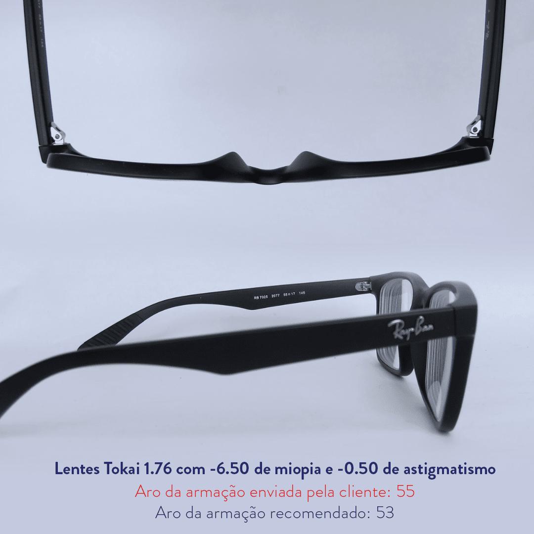 -6.50 de miopia e -0.50 de astigmatismo