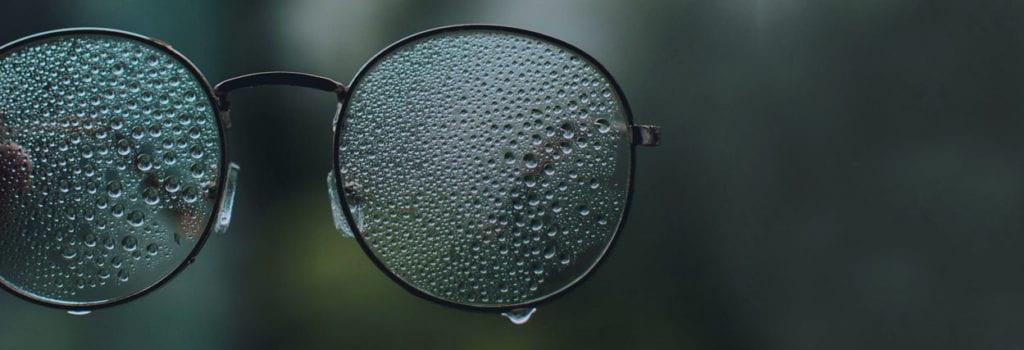 lente hidrofóbica