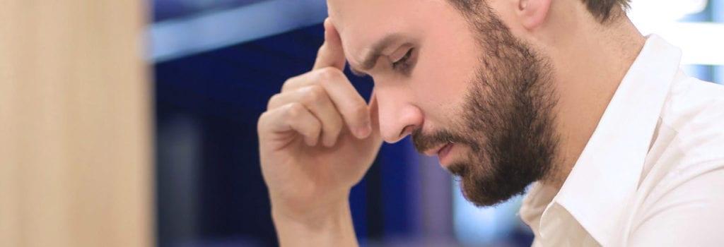 problema de visão causa dor de cabeça
