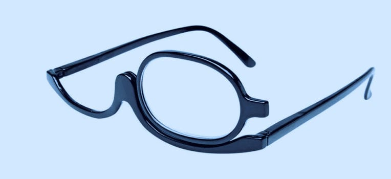 óculos para maquiagem