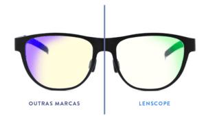 lentes filtro de luz azul