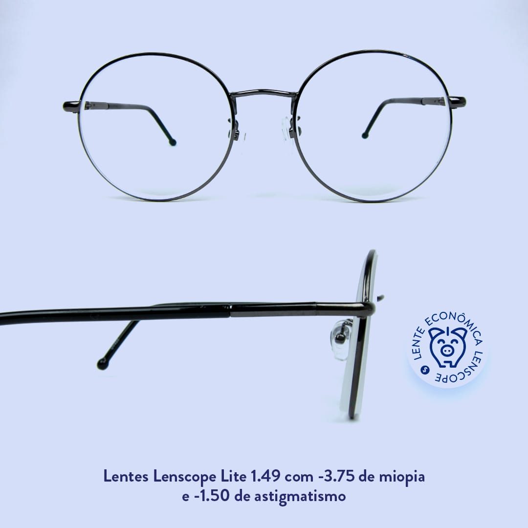 lentes mais econômicas da Lenscope