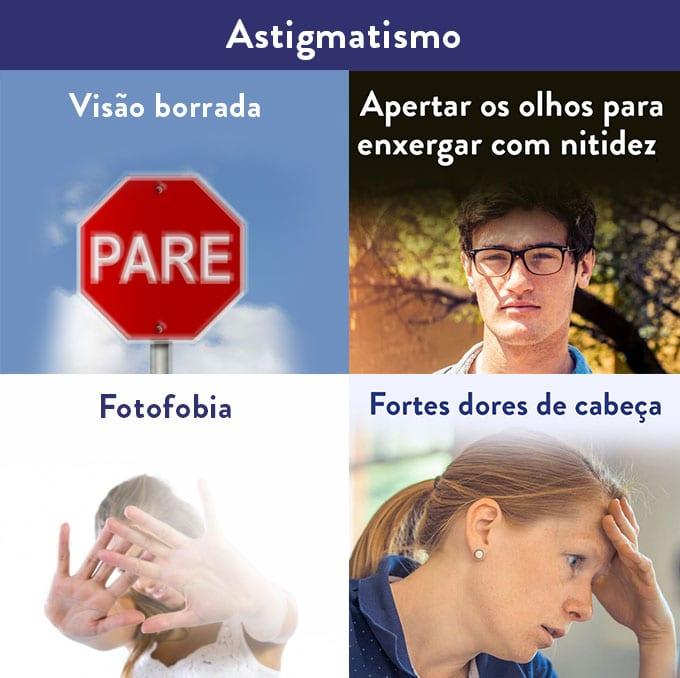 sintomas de astigmatismo