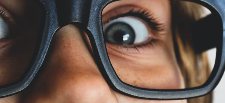 óculos para estrabismo