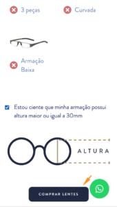 como comprar as lentes multifocais para vista cansada